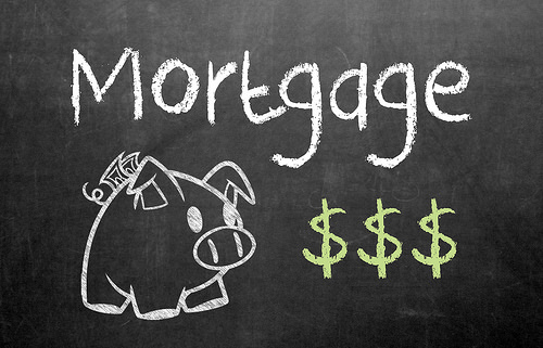 mortgage blackboard